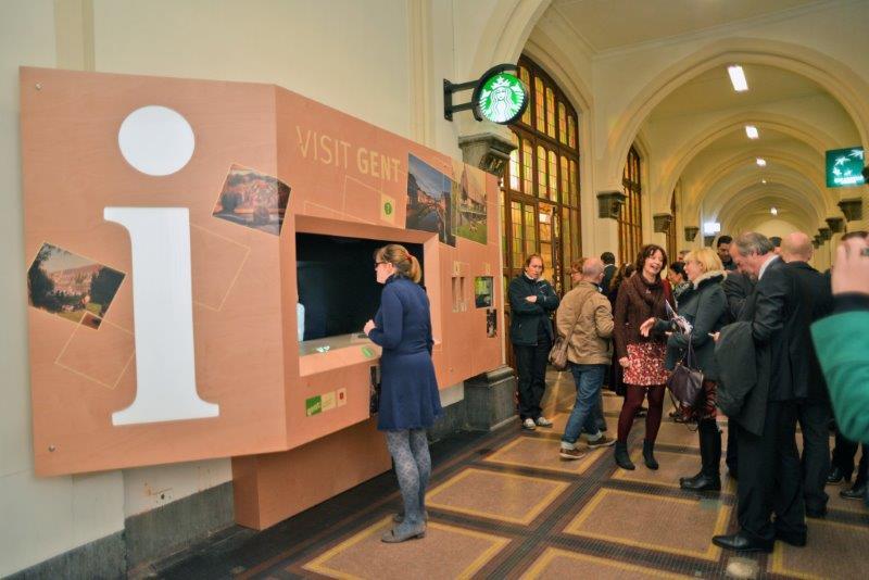 Starbucks Gent Sint Pieters Station Gent-sint-pieters