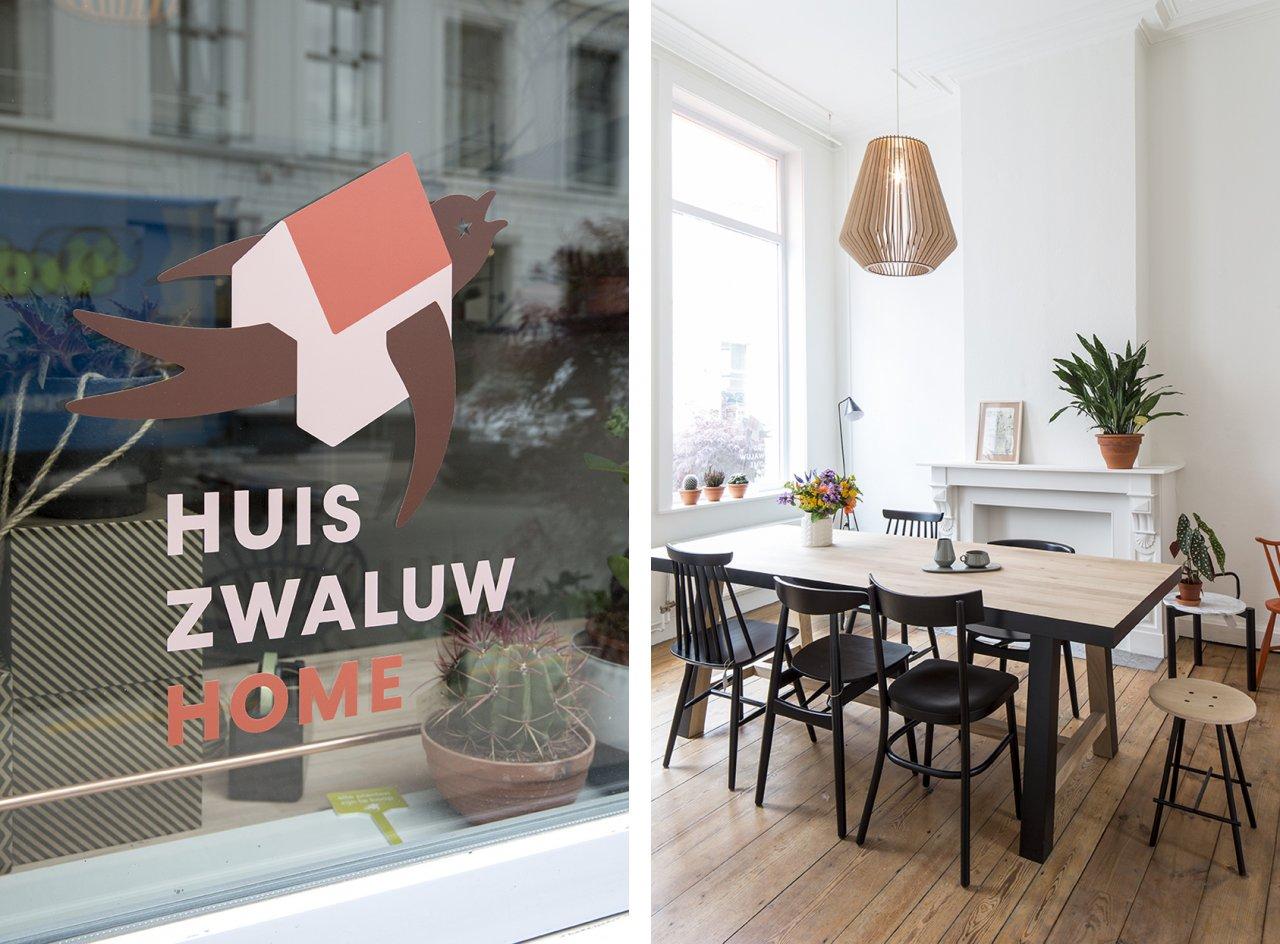 Huiszwaluw visit gent for Interieur winkel gent