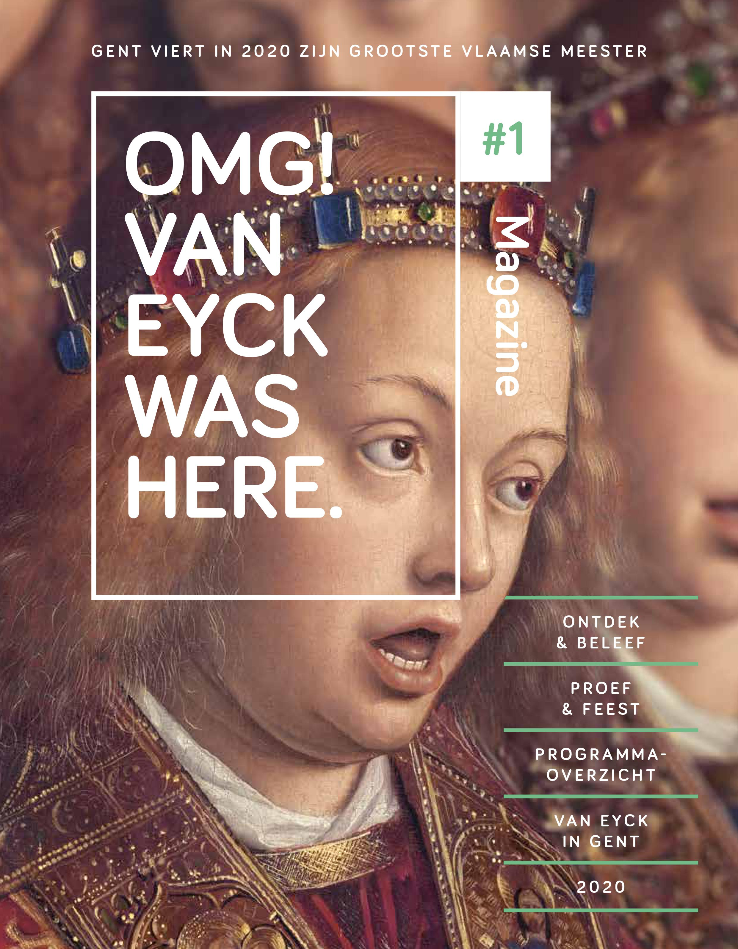 OMG! Van Eyck Was Here Revista #1