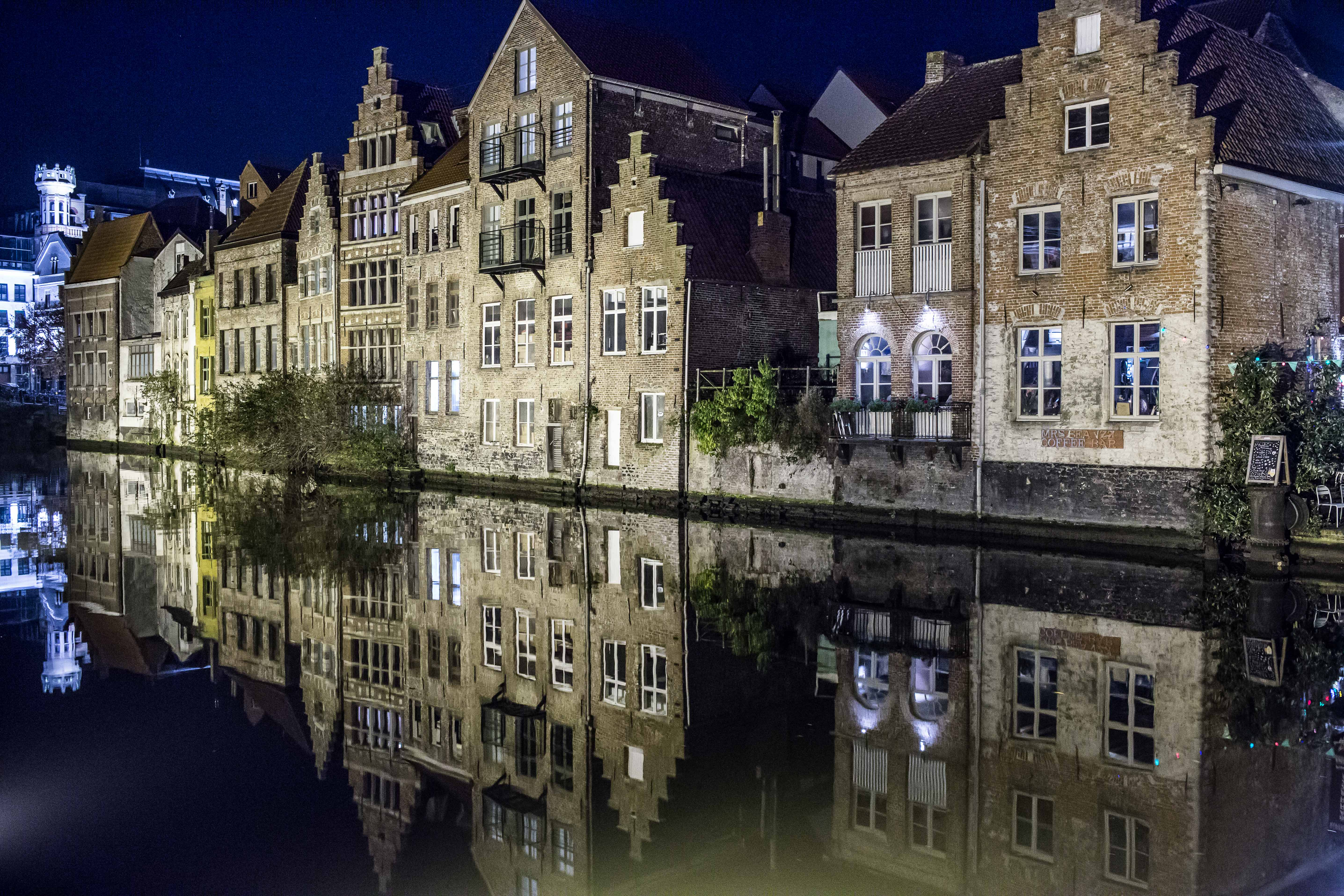 Magical Ghent in the evening   Visit Gent