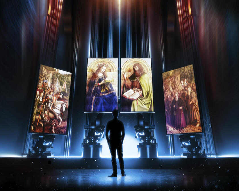 A magical multimedia spectacle at St Nicholas' Church