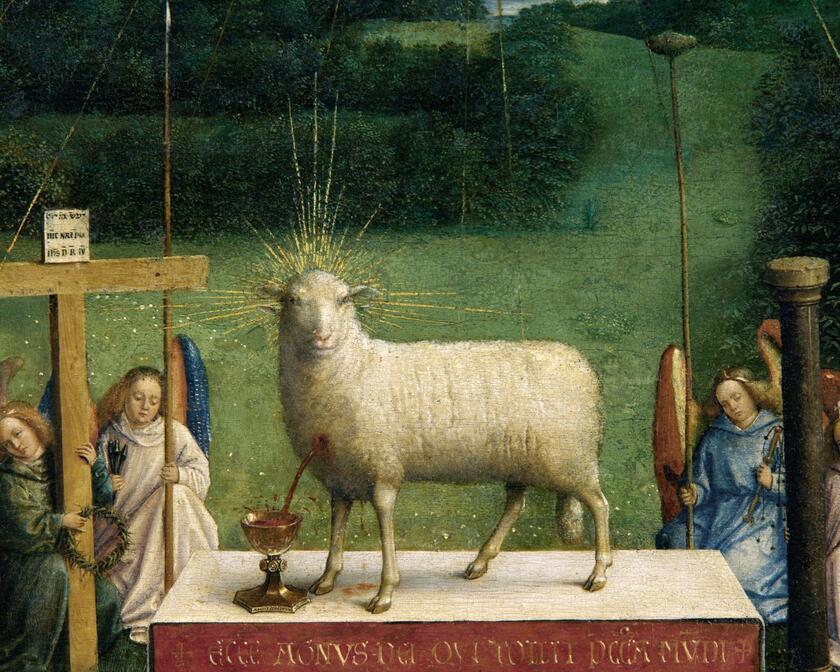 Adoration De L Agneau Mystique Visit Gent
