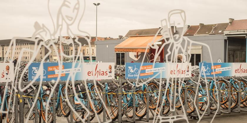 Blue-Bike Gent-Dampoort