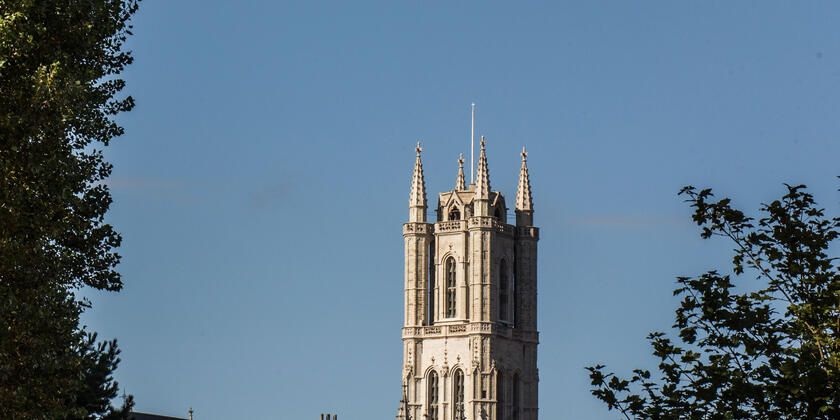 St Bavo's Cathedral: majestic tower
