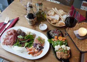 Great food at Villa Bardon in Ghent