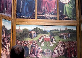 Adoration de l'agneau mystique