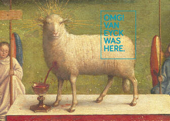 OMG! Van Eyck Was Here