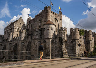 The Castle of the Counts will give you a complete picture of heraldic culture in the 12th century