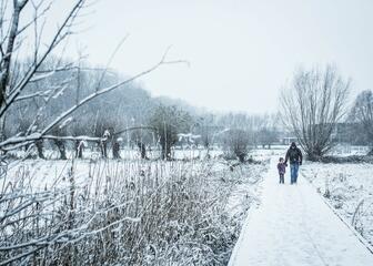 Bougoyen in the snow