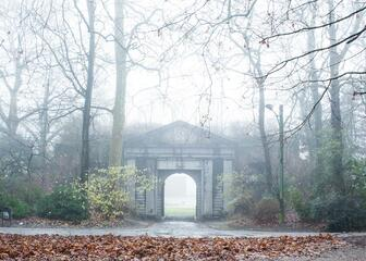 Foggy morning in Citadelpark