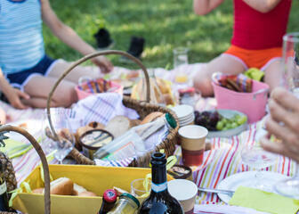 A picnic with the family & local products