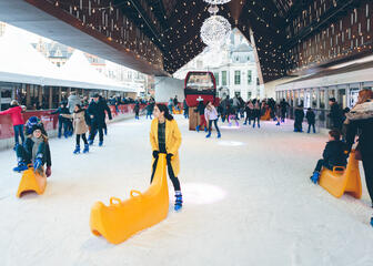 Ice rink in Ghent