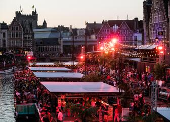 party at the Ghent festivities