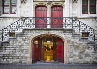 La boutique Van Eyck: point de départ de la Visite des Sept Sens
