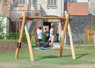 Children on the playground