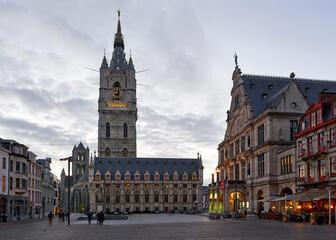 Sint-Baafsplein Gent