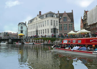Boat in Gent