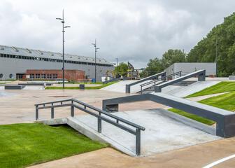Skatepark Blaarmeersen Gent