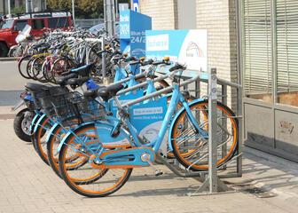 Blue-Bike Gent