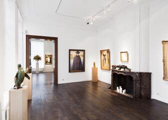Interior of the gallery