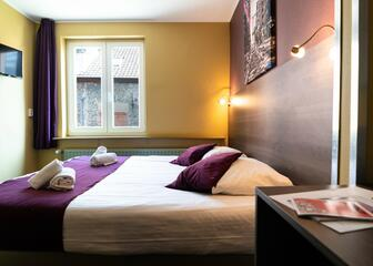 Double room at Flandria Hotel