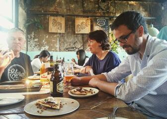 Food paring with Belgiumbeerdays tour