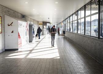 Station Dampoort Gent