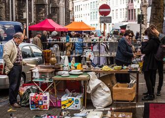 Brocantemarkt Bij Sint-Jacobs