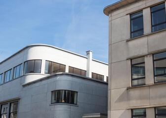 Omgeving Boekentoren Gent