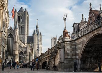 Torenrij in Gent