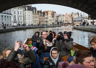 Boottocht Gent