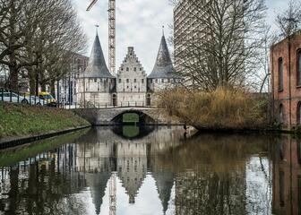 rondvaren in Gent