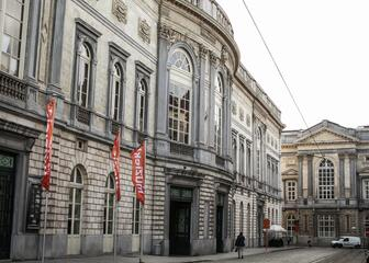 The Opera in Ghent dates from early 19th century