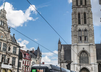 St Bavo Cathedral is the eyecatcher of the square