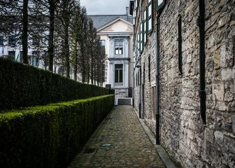 Beautiful surroundings of Het Pand