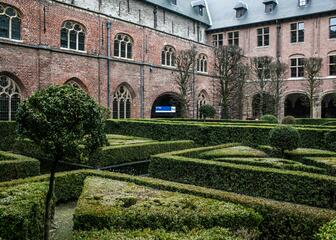 Meeting centre Het Pand is located in a former monastery