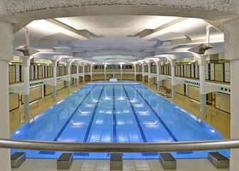 Zwembad Van Eyck Gent