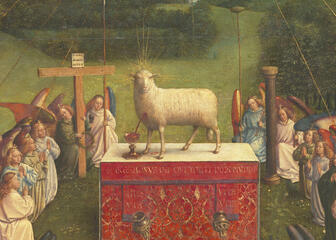 Lamb wit angels