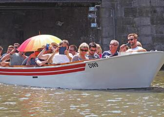 Boat in Gent - De Lieve