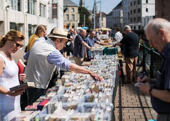 Büchermarkt Ajuinlei Gent