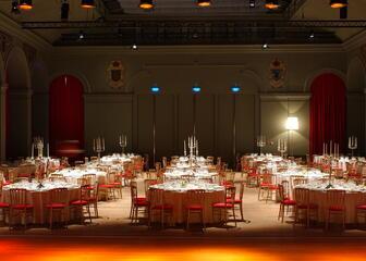 concert hall dinner