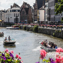 Boat trips in Ghent
